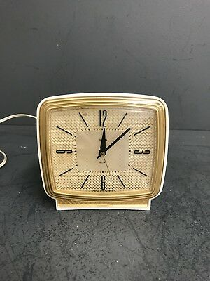 Smiths Sectric Rare Vintage Cream - electric alarm clock