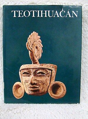 Teotihuacan Wonders of Man Newsweek Hardback Book, Copyright 1973