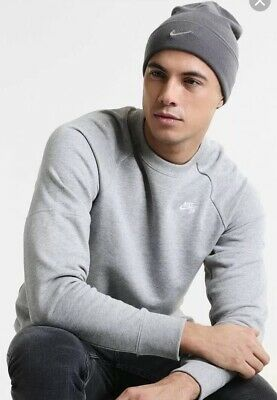 cb4a0c92 NIKE METAL SWOOSH Soft Light Stretch Knitted Beanie Winter Hat - EUR ...
