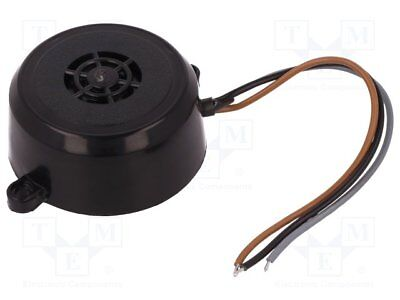 Sound transducer: piezo alarm; 36÷48VAC; 36÷48VDC; Colour: black[1 pcs]