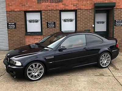 2004 BMW M3 Manual Coupe, Carbon Black with Imola Red Leather, 51000 miles