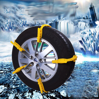 C894 1Pcs Auto Snow Tire Chain Car Truck Wheel Antiskid Easy Useful Safety Tools