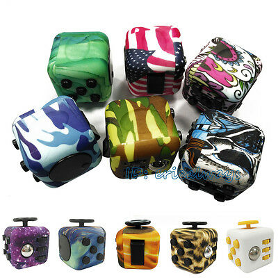 Stress Reliever Fidget Cube Desk Toys Anxiety Adults Anti Stress Relief ADHD Toy