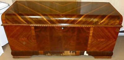 Antique Cedar Hope Chest by Lane Vintage Lock Removed Per Ebay Rules