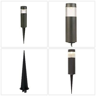 Bollard Pathway Light Low Voltage Black Outdoor Integrated Led