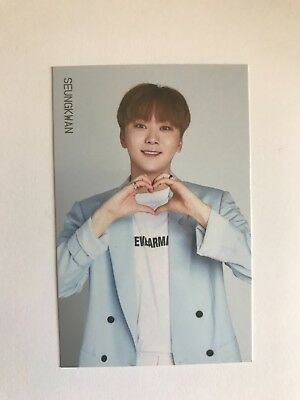 Seventeen Ideal Cut official trading card Seungkwan #11