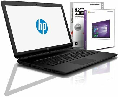 HP Notebook 15,6 Zoll - AMD Quad 4x1,80 GHz - 128 GB SSD - 4 GB DDR4 - Win10 Pro