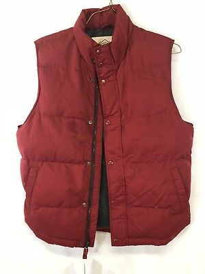 save off 16487 19477 NEW- Men s St. Johns Bay Down Puffer Vest Size Large Black Red