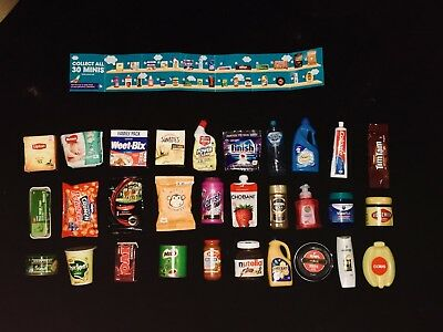 Coles Little Shop Mini Collectables Toys Collection 30 Full Set or Individual(s)