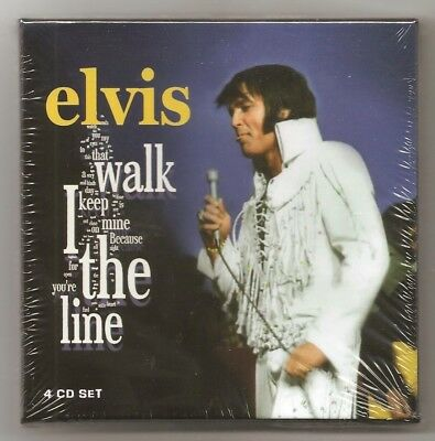 """Elvis Presley 4 Cd """"i Walk The Line"""" 2018 Redemption August 1970 Shows Rehearsal"""