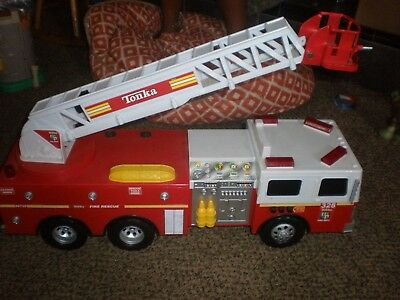 ~Tonka Fire Truck With Lights And Sounds..24 Inches Long....18.99