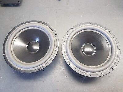 Pair of Vifa M21WN woofers 8 Ohm REFOAMED!