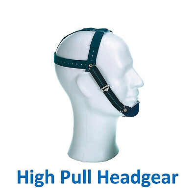 Dental Orthodontic High Pull Headgear Chin Cap Elastic Headstrap