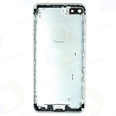 SILVER Metal Back Door Rear Housing Battery Cover Replacement For iPhone 7 PLUS