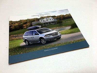 2005 Mopar Chrysler Town Country Accessories Brochure