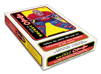 2018-19 UPPER DECK O-Pee-Chee OPC HOCKEY HOBBY SEALED BOX - CollectorsAvenueCom