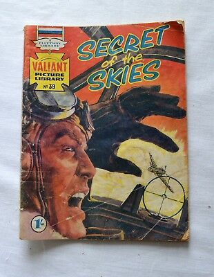 Valiant Picture Library Comic Secret of the Skies No 38 1960's