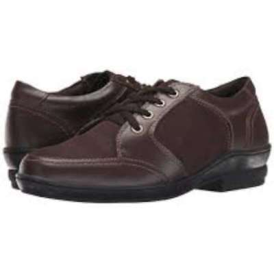 David Tate Womens Helen Leather Low Top Lace Up Fashion Sneakers