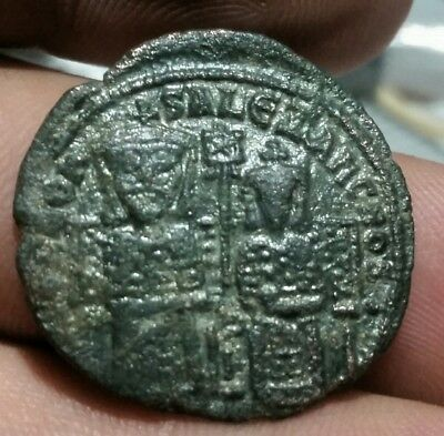 LEO VI The Wise with Alexander 870-912 AD Constantinople. Byzantine Empire