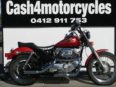 Harley Sporty Looks Sounds And Rides Awesome Great Value @ $6990
