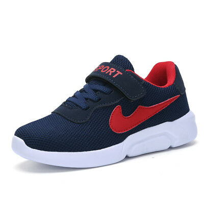 Kids Boys Casual Fashion Sneakers Athletic Walking Outdoor Running Sports Shoes