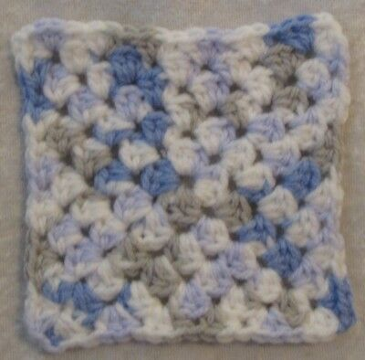 Miniature DOLLHOUSE BABY Crochet Mini BLANKET, Afghan, Quilt  #19 Sweet Baby