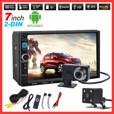 "7"" HD 2Din Car MP5 Player 1080P Touchscreen Video Bluetooth Double Stereo Radio"