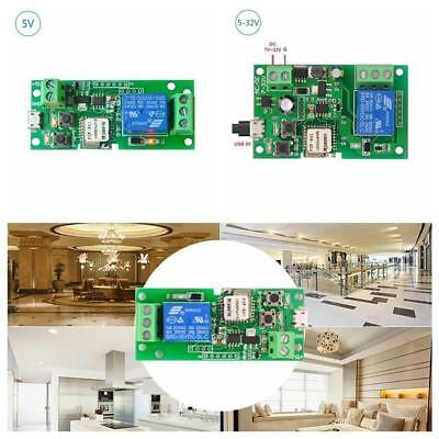 DC5V Sonoff Wireless WiFi Inching/Self-Locking Home Smart Switch Relay Module US