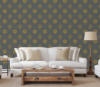 Wallpaper Giant Decoration Wall Buddha Zen Ref 4531