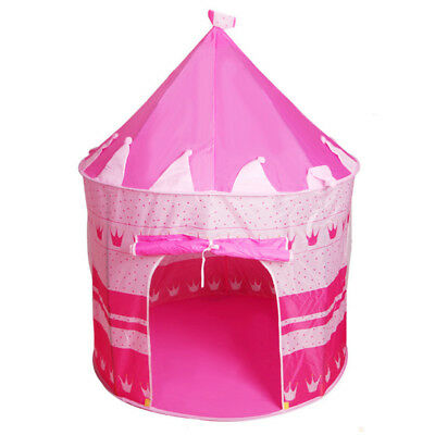 Children Play House Toy Tent Princess Castle Folding Tipi Play Tent Outdoor Home