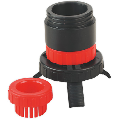 Sealey Universal Drum Adaptor fits SOLV/SF to Plastic Pouring Spouts