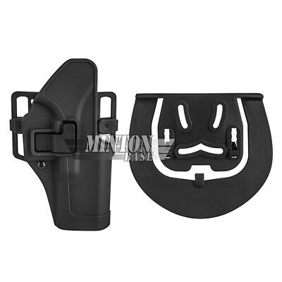 Belt Paddle Replacement Platform W//Screws for Level 1 /& 2 SERPA Waist Holsters