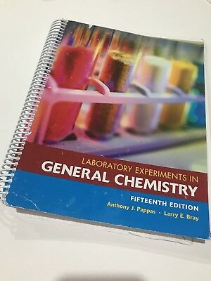 Experiments in general chemistry cengage laboratory series for laboratory experiments in general chemistry 15th edition pappas and bray fandeluxe Images