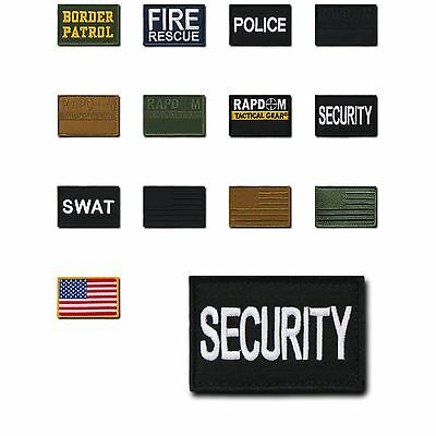 20 LOT Tactical Operator Contractor Hook / Loop 3x2 Canvas Patches Wholesale