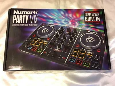 Numark Mirror Ball With 2 Deck DJ Controller Virtual DJ LE Included Party Mix