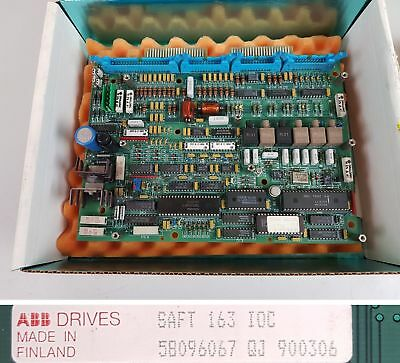 PP6151 I/O Connect board ABB Saft 163 IOC 58096067 QJ