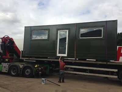 office container, fully insulated, blank shell,
