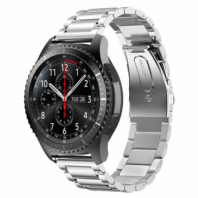 Edelstahl Uhr Metall Armband für Samsung Gear S3 Frontier/S3 Classic Band 22 mm