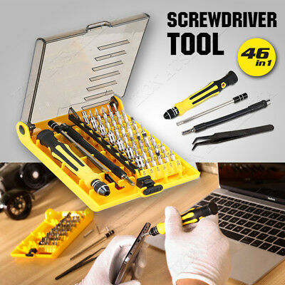 Precision Screwdriver Tool 46IN 1 Torx Screw Driver Set Kit Repair PC Laptop