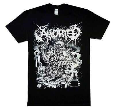 Aborted Mad Scientist Aust Tour Shirt S-XXL Official Tshirt Death Metal T-Shirt