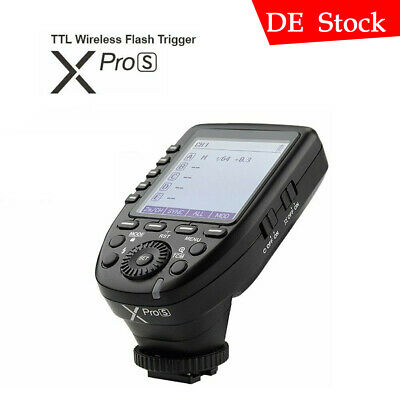 Godox 2.4G TTL HSS Xpro-S Camera Flash Speedlite Transmitter Trigger For Sony