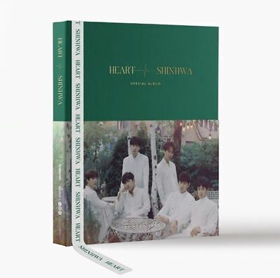 SHINHWA TWENTY Special Album - [HEART] CD+Photobook+Photocard+2p Polaroid