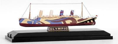 10005 EFE RMS Olympic WW1 Dazzle Troop Ship TITANIC SISTER 1:1750 Diecast New