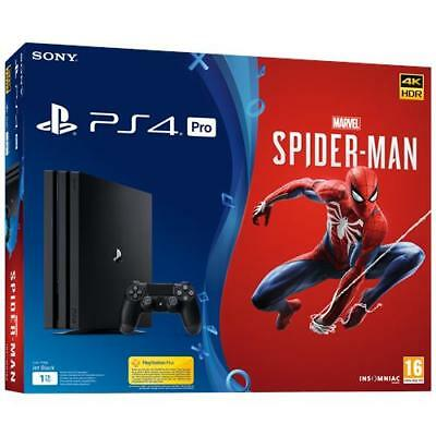 SONY Console Playstation 4 PRO 1 TB + Marvel's Spider-Man