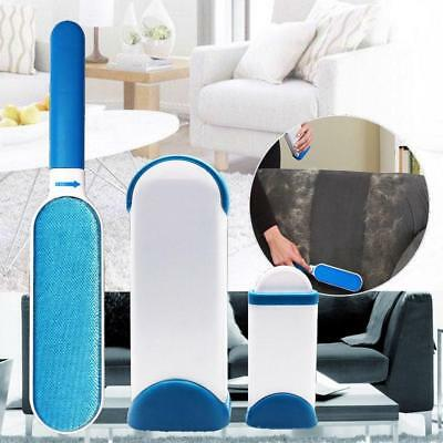 Dogs Cats Combs Hair Removal Cleaning Brush Tools Dust Double Sided Carpet Sofa