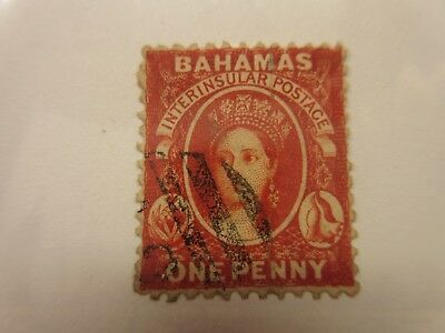 BAHAMAS   Scott  11, SG 20  USED  Cat $90