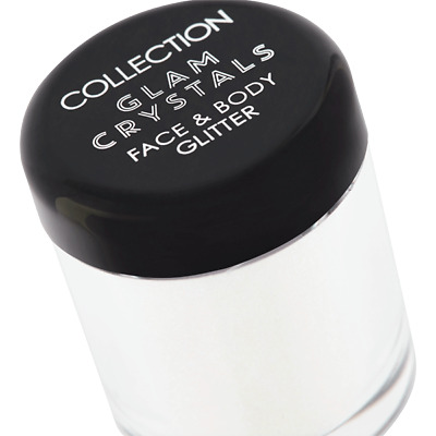 COLLECTION Glam Crystals Face & Body Glitter - CHOOSE SHADE - NEW