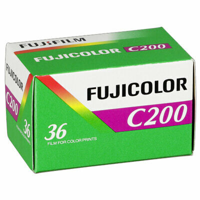 Fuji Fujicolor C200 Film Pack 135 (36 Exposures)