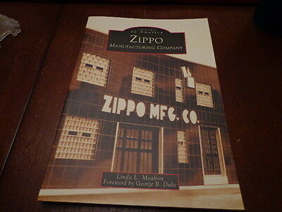 Zippo Manufacturing Company Zippo Lighter Book 128 Pages Mint Unused