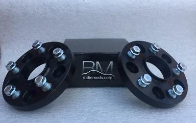 Volkswagen T6 2015 Onwards 5x120 65.1 BLACK 20mm ALLOY Hubcentric Wheel Spacers